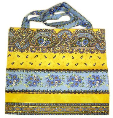 Eco shoulder bag coated (Marat d'Avignon / tradition. yellow)