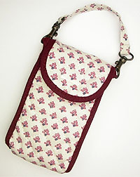 Provence style cellphone case (Lourmarin. white x pink)