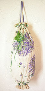 Plastic bags stocker bag (Lavender. raw)