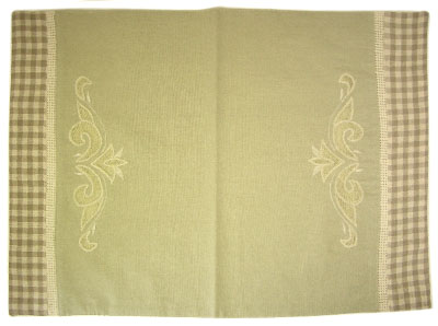 Tea mat (CAPUCINE. green)