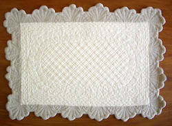 Provence lunch mat, (ivory x natural)