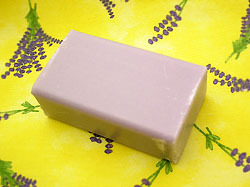 Soap with essential oil extracted from Sault's lavender fields