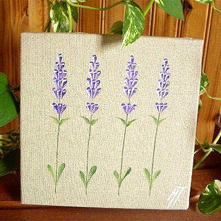 Provencal canvas, linen painting (lavender) - Click Image to Close