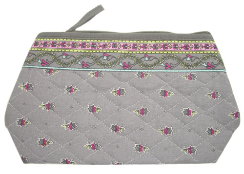 Provence Quilted Pouch PM (Marat d'Avignon / Avignon. grey x ro)