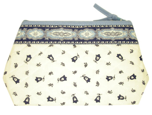 Provence Quilted Pouch PM (Marat d'Avignon / tradition. white bl