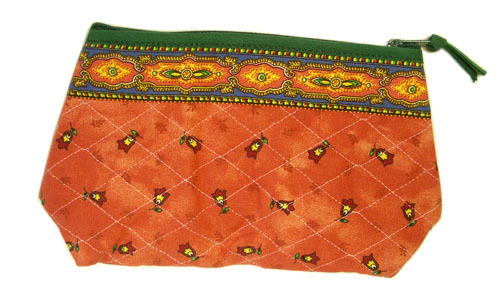 Provence Quilted Pouch PM (Marat d'Avignon / tradition. rust)
