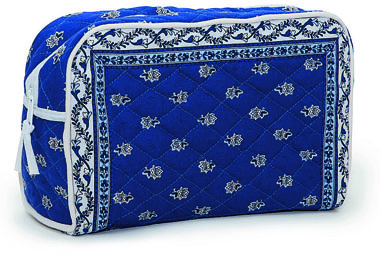 Provence pattern toiletries bag (Marat d'Avignon / Avignon. navy