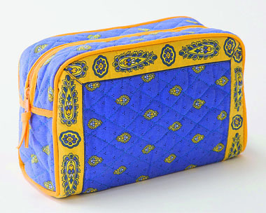 Provence pattern toiletries bag (Marat d'Avignon / bastide. lave