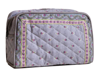 Provence pattern toiletries bag (Marat d'Avignon / Avignon. grey