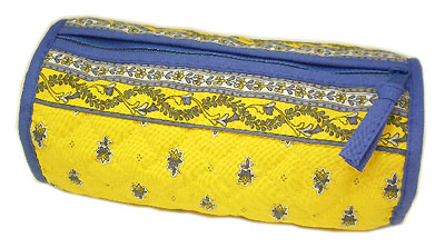 Provence Quilted Pouch ROUCY(Marat d'Avignon / Avignon. yellow)