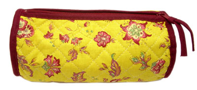 Provence Quilted Pouch ROUCY(Vence. yellow)