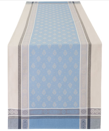 Jacquard Teflon Table runner (Marat d'Avignon Vaucluse. 3 colors