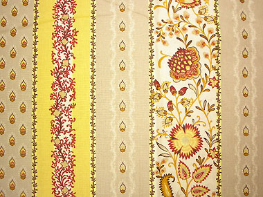 French Provence tablecloth coated