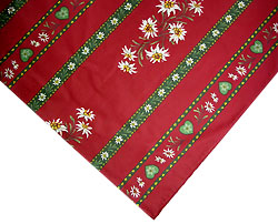 Provence Christmas tablecloth