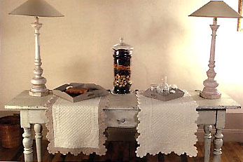 French Quilted Table Runner