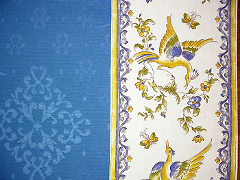 French Jacquard Damask topcloth