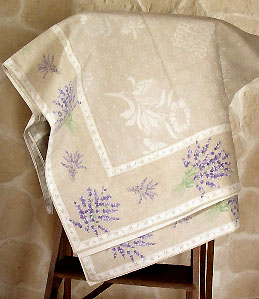 French table top cloth woven Jacquard