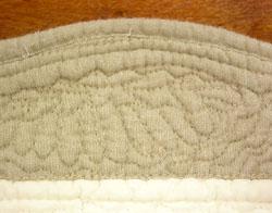 Boutis quilts stitchs
