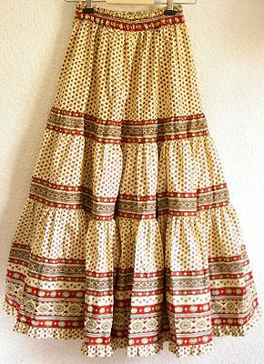 Provence Bohemian Skirt