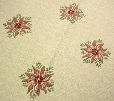 French Christmas Jacquard tablecloth