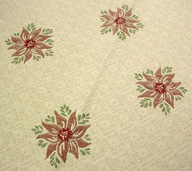 French Christmas Jacquard tablecloth
