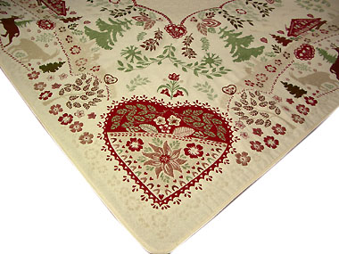 Mountain style French Jacquard top table cloth