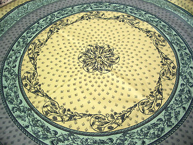French Round Tablecloth Advanced Teflon Coated