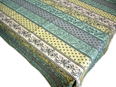 Provence tablecloth coated rectangle