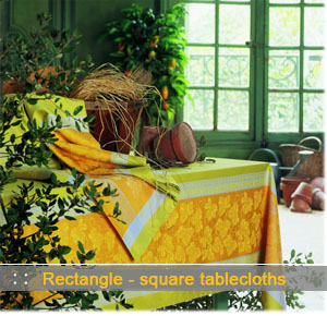 provencal pattern tablecloth